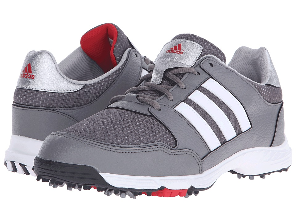adidas Golf - Tech Response 4.0 (Iron Metallic/Ftwr White/Core Black) Men's Golf Shoes