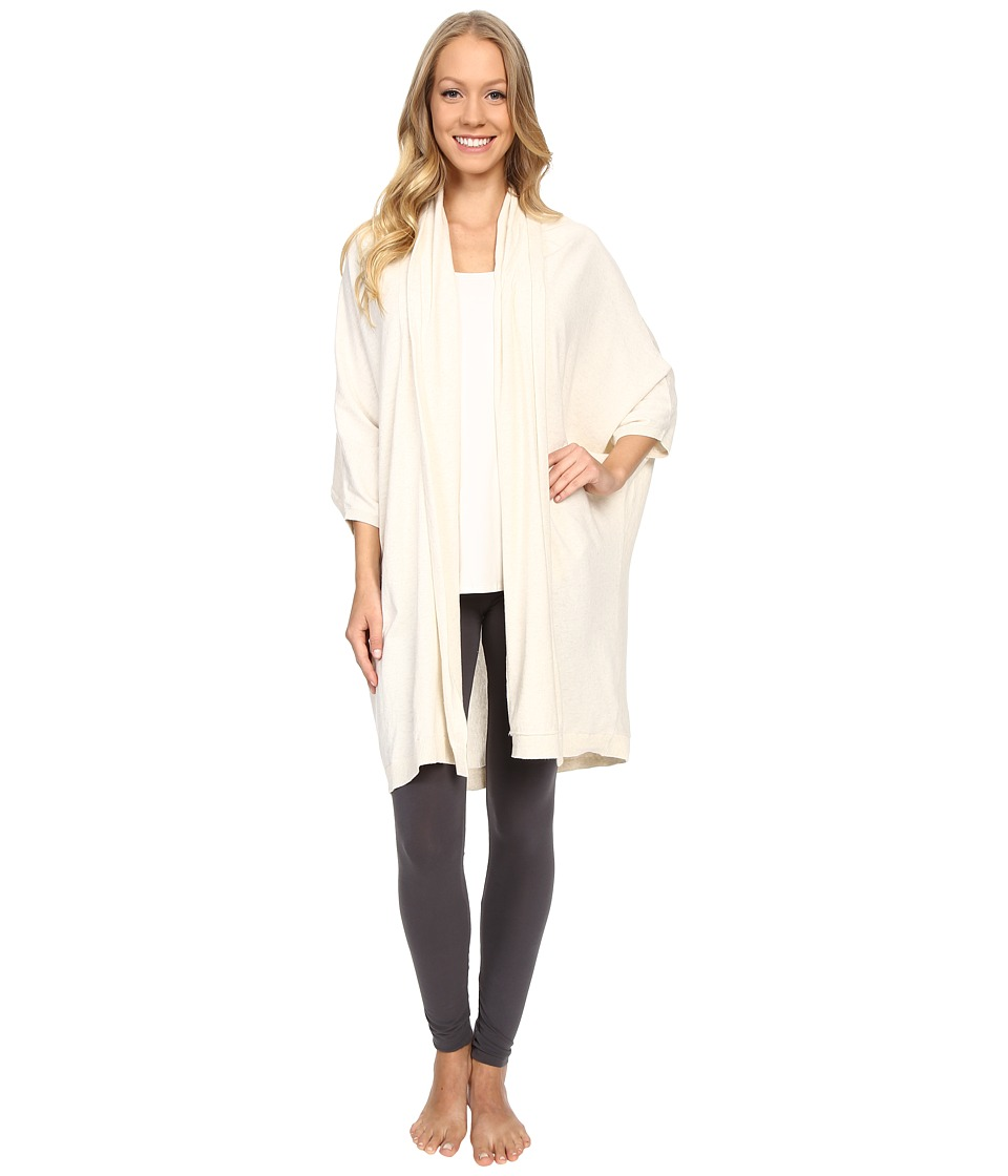 UGG - Nora Cocoon Robe (Fresh Snow Heather) Women's Robe