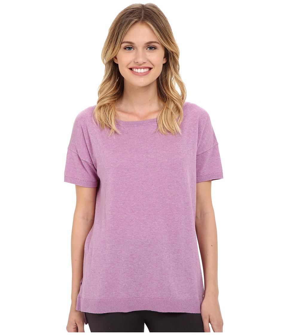 UGG - Jade Boat Neck Tee (Orchid Heather) Women's T Shirt