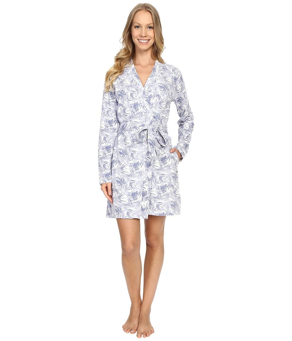 UGG - Clio Island Floral Robe (Stonewash) Women's Robe