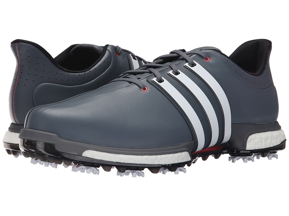adidas Golf Tour360 Boost (Onix/Ftwr White/Shock Red) Men