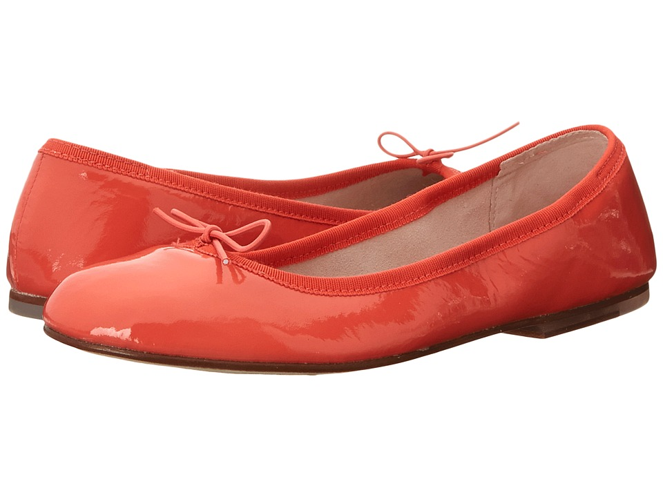 Bloch - Patent Ballerina (Orange) Women's Shoes