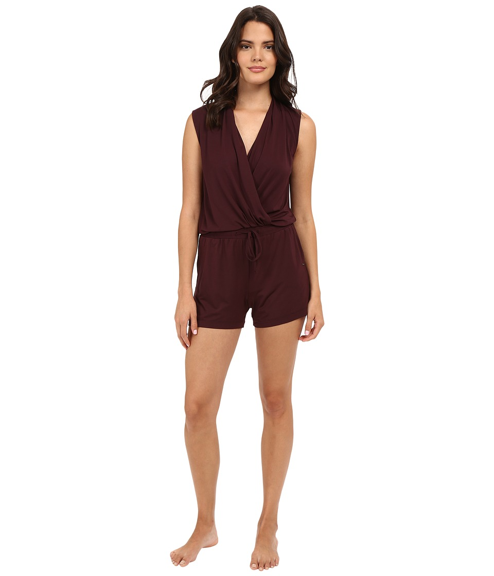 UGG - Kami Lounge Romper (Black Cherry) Women's Jumpsuit & Rompers One Piece