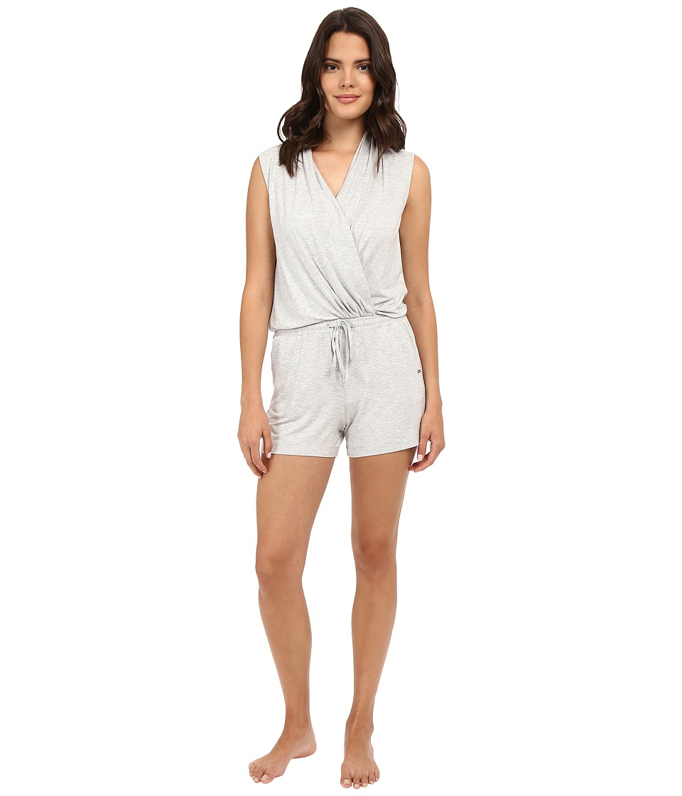 UGG - Kami Lounge Romper (Seal Heather) Women's Jumpsuit & Rompers One Piece