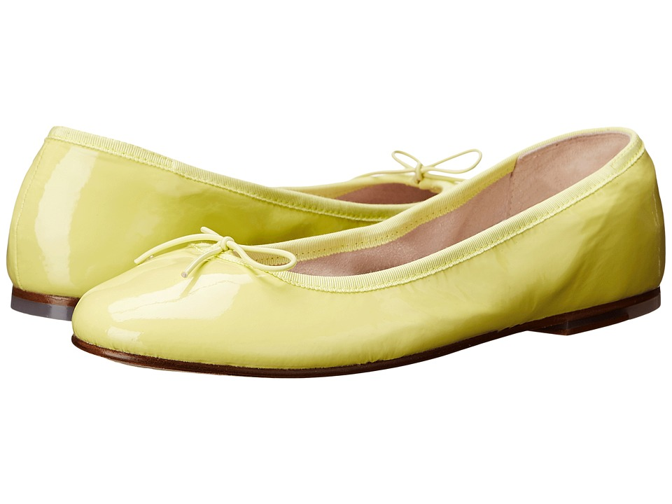 Bloch - Patent Ballerina (Yellow) Women's Shoes