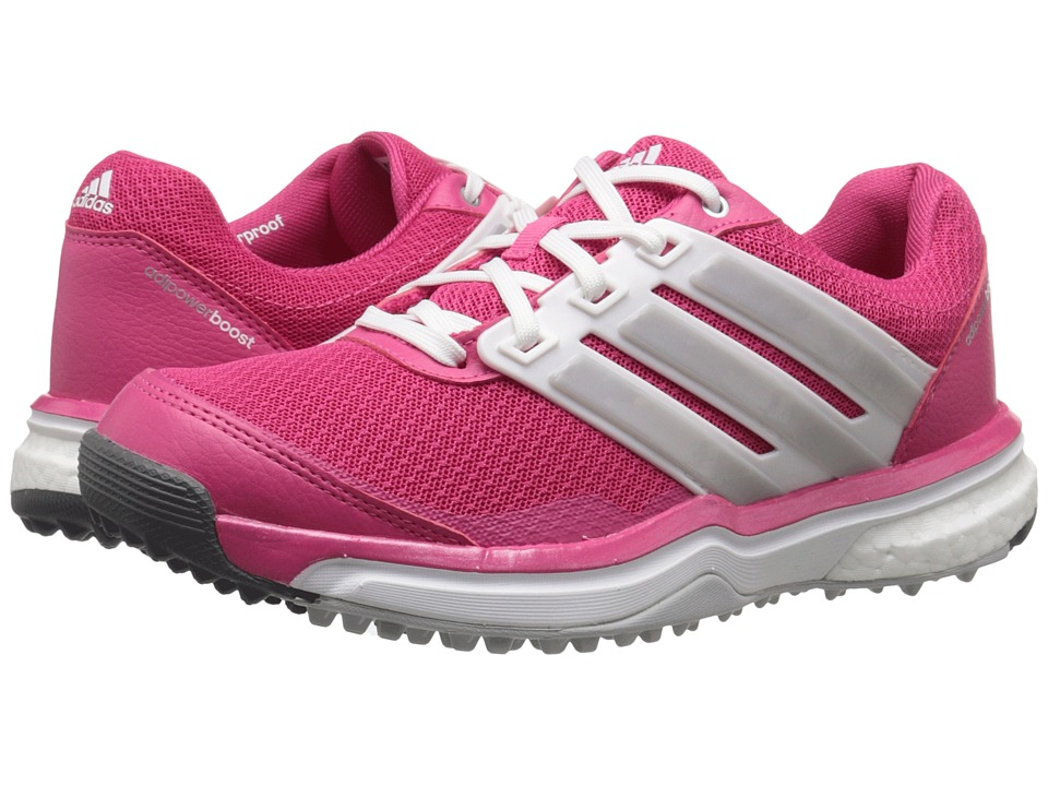 adidas Golf Adipower S Boost II (Raspberry Rose-Tmag/Ftwr White/Matte Silver) Women