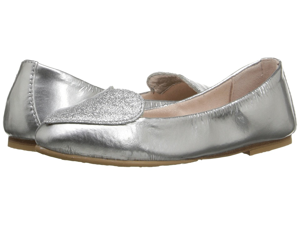Bloch Kids - Evelyn (Toddler/Little Kid/Big Kid) (Silver) Girl's Shoes