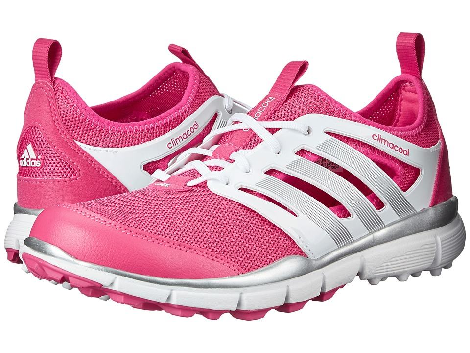 adidas Golf - Climacool II (Raspberry Rose-Tmag/Ftwr White/Silver Metallic) Women's Golf Shoes