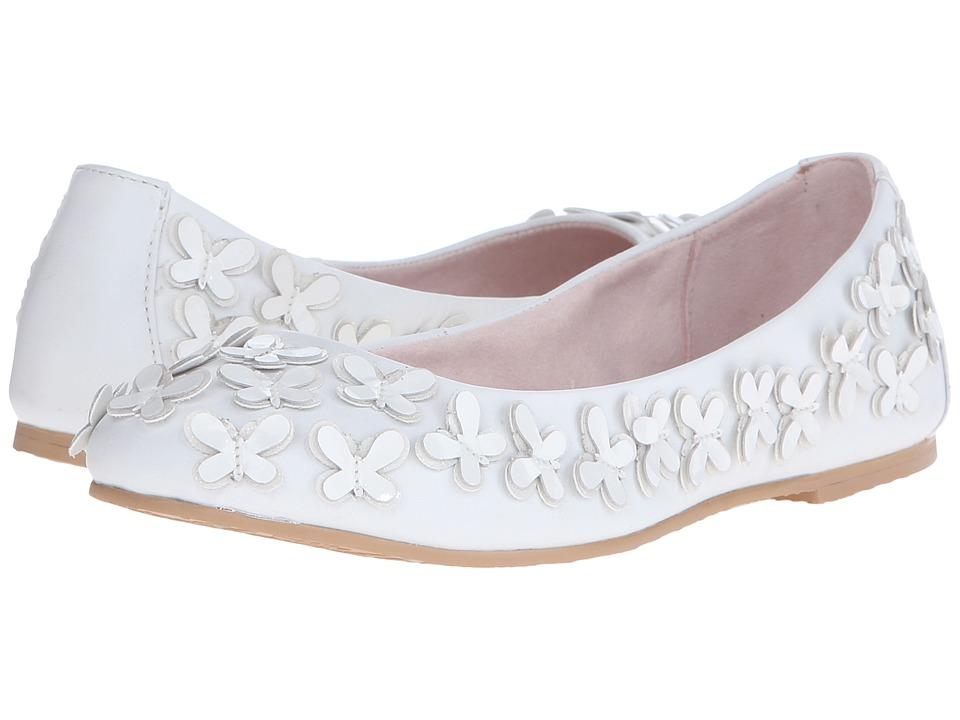 Bloch Kids - Butterfly (Toddler/Little Kid/Big Kid) (White) Girl's Shoes
