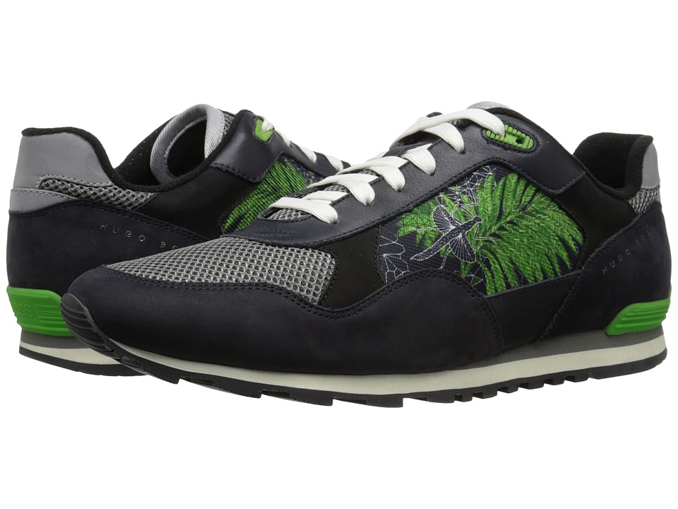 BOSS Hugo Boss - Runcool Botanic (Medium Blue) Men's Lace up casual Shoes