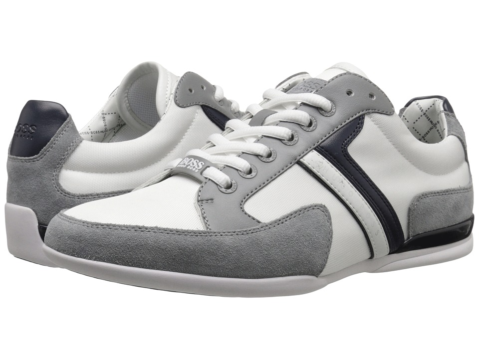 BOSS Hugo Boss - Spacit by BOSS Green (Light Grey) Men's Lace up casual Shoes