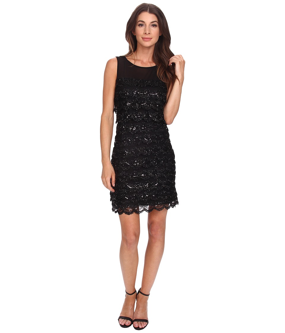 Jessica Simpson 10th ANN Tier Sequin (Black) Women