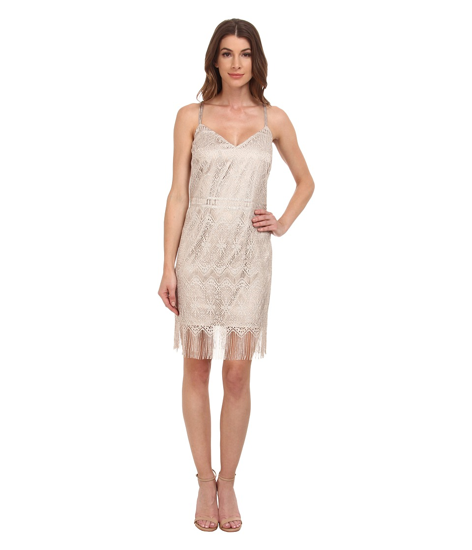 Jessica Simpson - 10th ANN Fringe Shift (Gold) Women's Dress