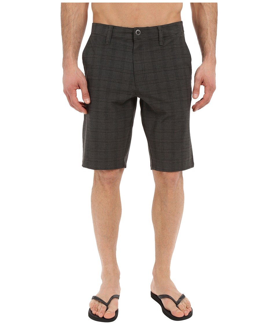 Volcom - SNT Mix Hybrid Shorts (Black) Men's Shorts