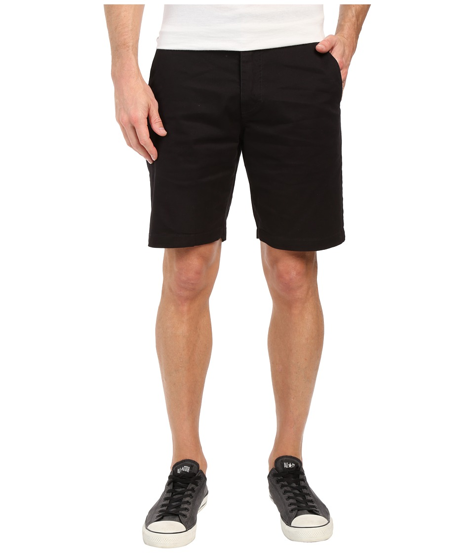 Volcom - Frickin Lightweight Chino Shorts (Black) Men's Shorts