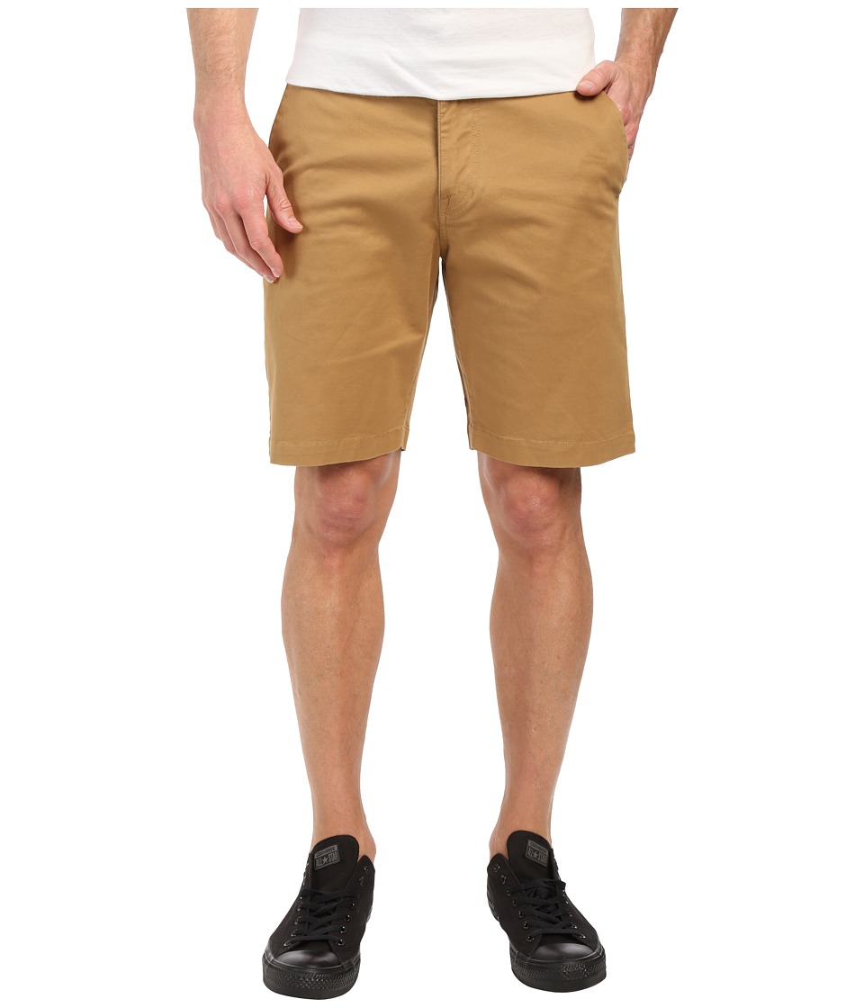 Volcom - Frickin Lightweight Chino Shorts (Dark Khaki) Men's Shorts