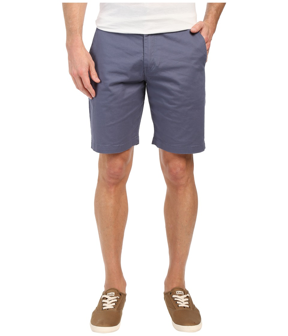 Volcom - Frickin Lightweight Chino Shorts (Grey Blue) Men's Shorts