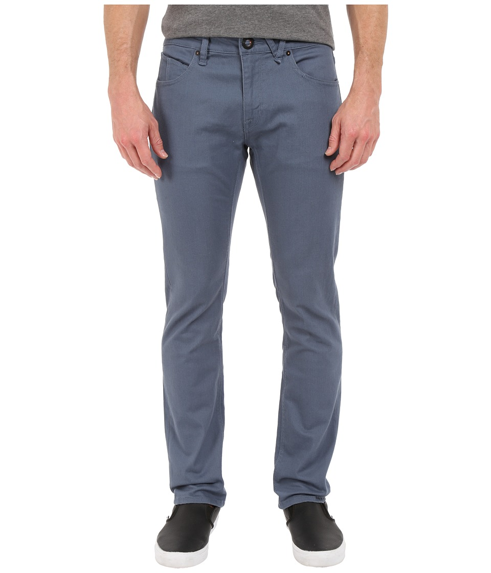 Volcom - Vorta Twill Pant (Grey Blue) Men's Casual Pants