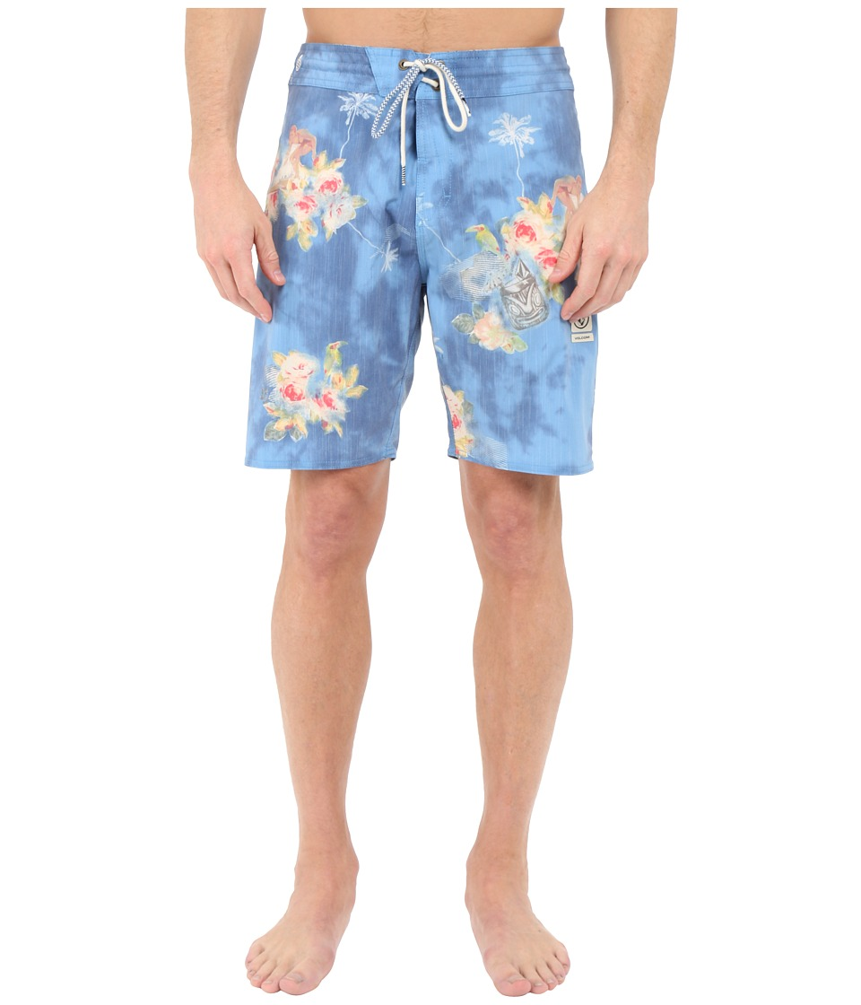 Volcom - Lou-Wow Slinger 18 Boardshorts (Royal) Men's Swimwear