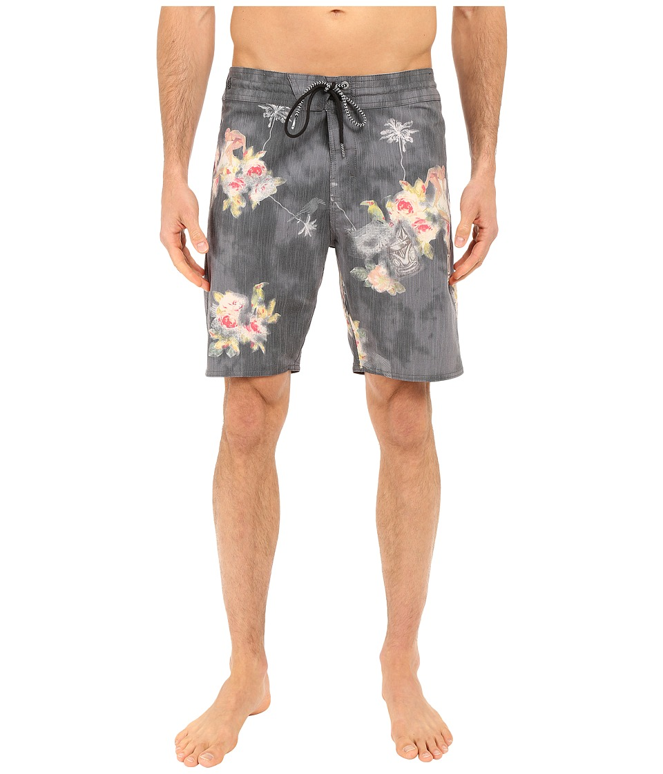 Volcom - Lou-Wow Slinger 18 Boardshorts (Black) Men's Swimwear
