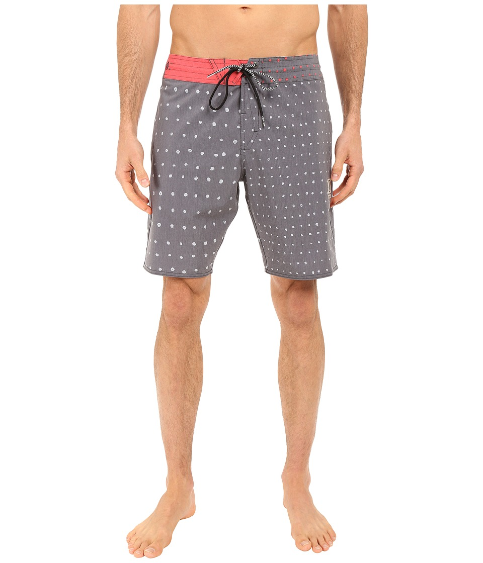 Volcom - Change Up Slinger 18 Boardshorts (Charred) Men's Swimwear