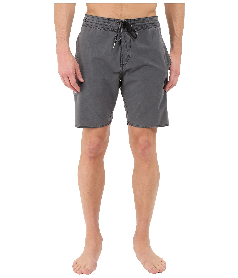 Volcom - Balboa Slinger 18 Boardshorts (Black) Men's Swimwear