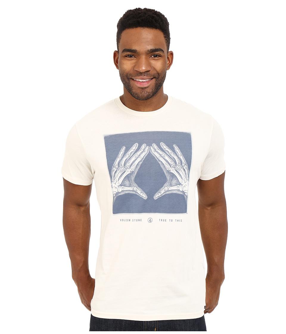 Volcom - Xray Short Sleeve Tee (Oxford Tan) Men's Short Sleeve Pullover