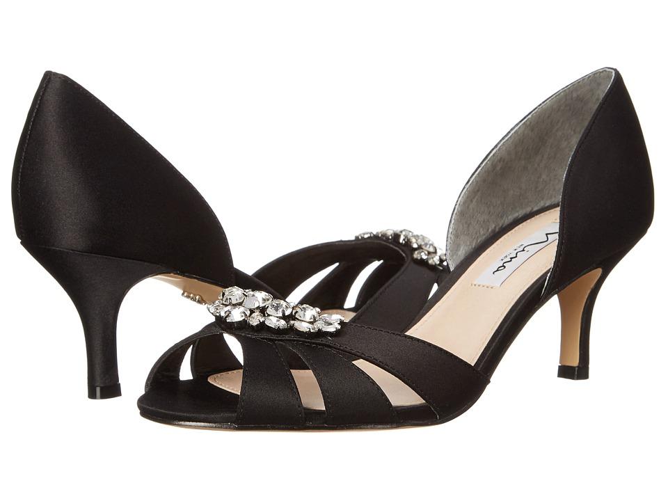 Nina - Cylinda (Black) High Heels