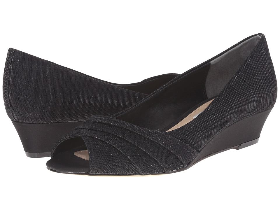 Nina - Rowan (Black) Women's Wedge Shoes