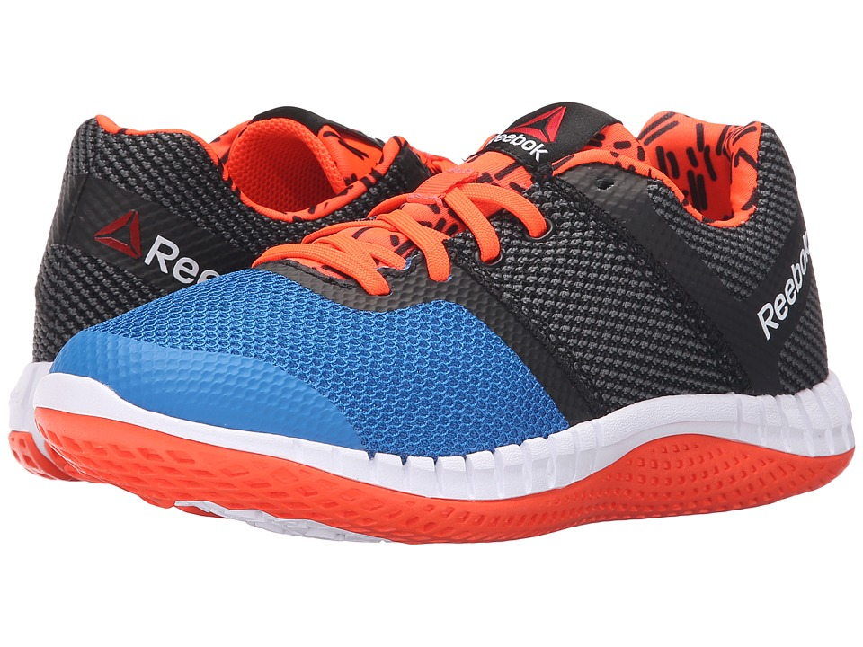 Reebok Kids - Zprint Run GR (Big Kid) (Blue/Black/Red/White) Kid's Shoes