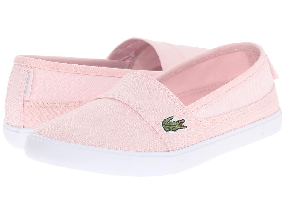 Lacoste Kids - Marice 116 1 SP16 (Little Kid/Big Kid) (Light Pink/Light Blue) Girl's Shoes