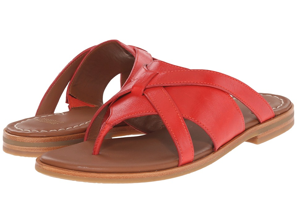 Johnston & Murphy - Lynette (Red Soft Italian Calfskin) Women