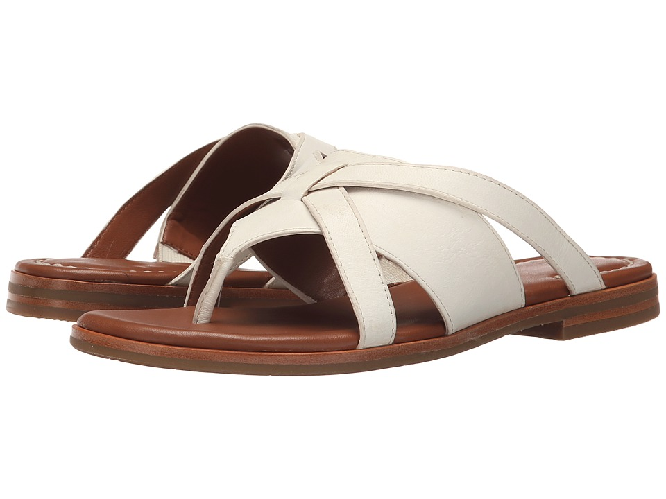 Johnston & Murphy - Lynette (Ivory Soft Italian Calfskin) Women's Shoes