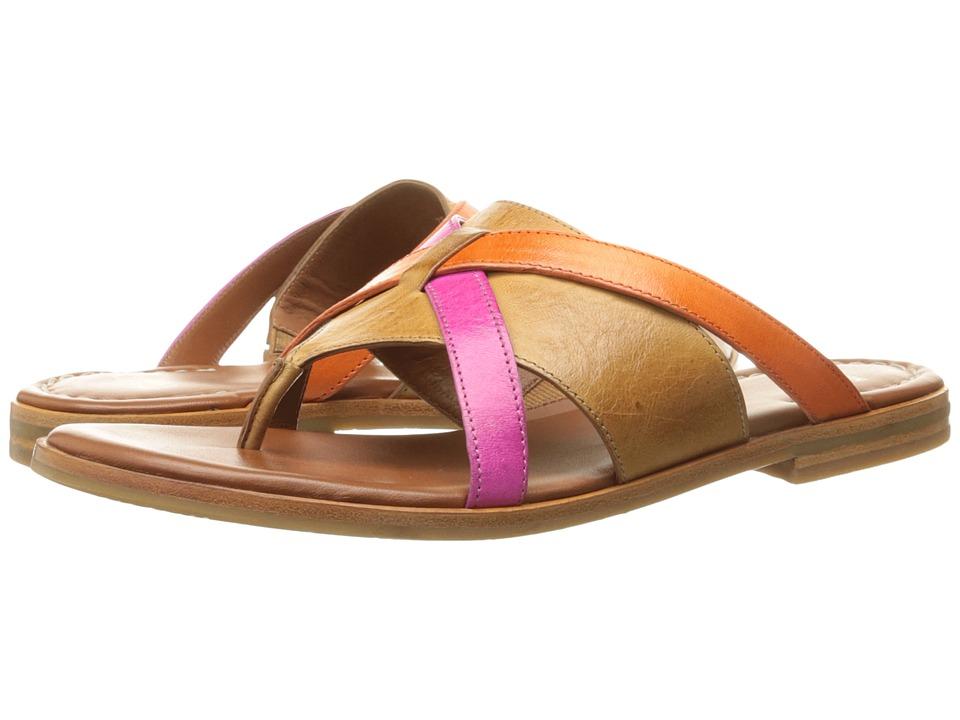 Johnston & Murphy - Lynette (Tan Multi Soft Italian Calfskin) Women's Shoes