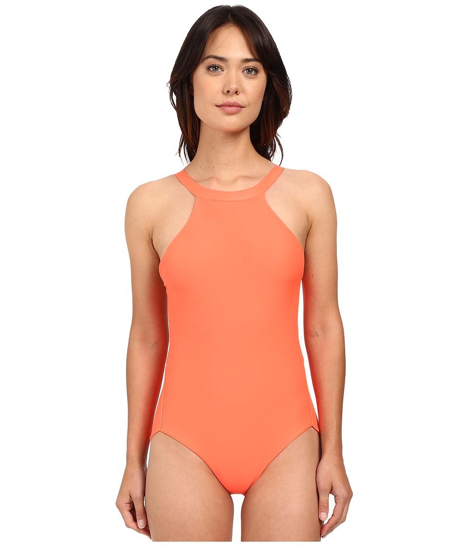 Lolli - Glitter One Piece (Sunset) Women's Swimsuits One Piece