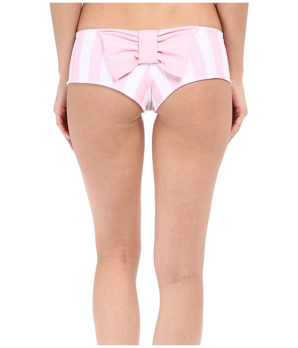 Lolli - Classic Bow Bottom (Pinky Stripes/Purr) Women's Swimwear