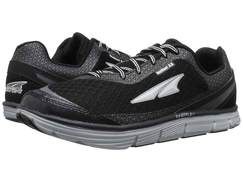 Altra Footwear - Instinct 3.5 (Black/Metallic Silver) Men's Running Shoes