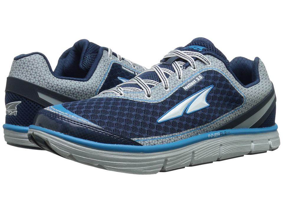 Altra Footwear - Instinct 3.5 (Blue/Silver) Men's Running Shoes