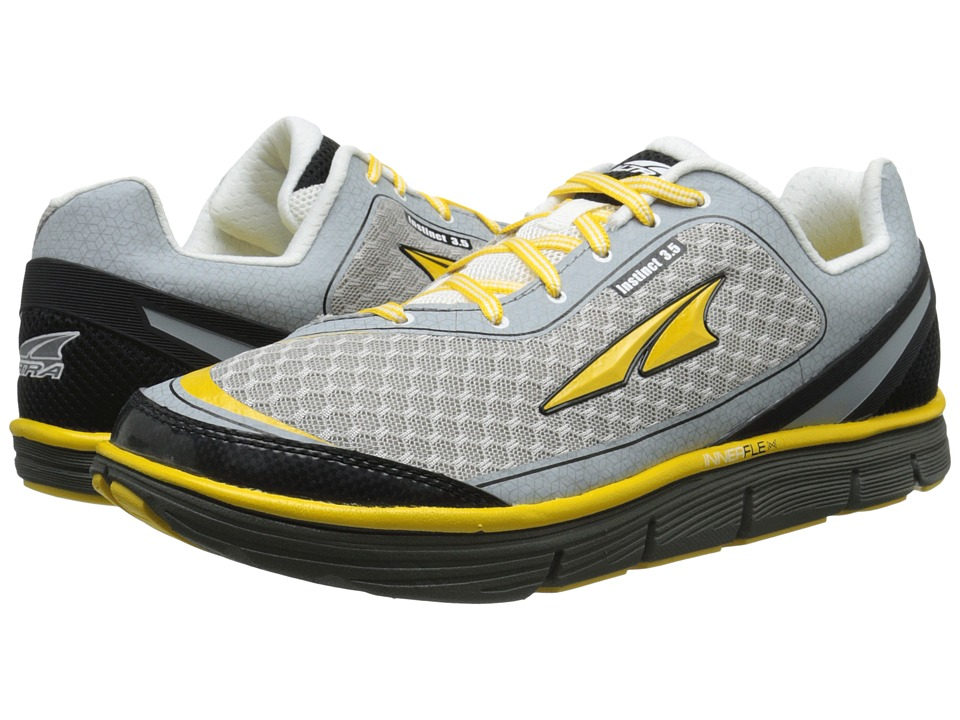 Altra Footwear - Instinct 3.5 (Cyber Yellow/White) Men's Running Shoes