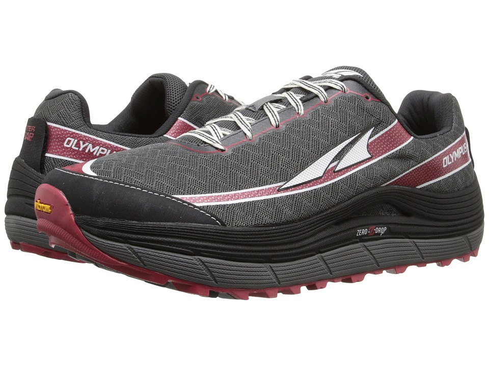 Altra Footwear - Olympus 2 (Pewter/Racing Red) Men's Running Shoes