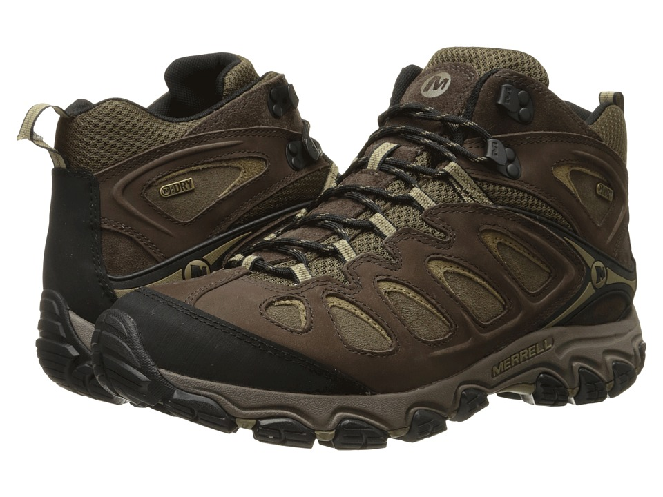 Merrell - Pulsate Mid (Espresso) Men's Shoes