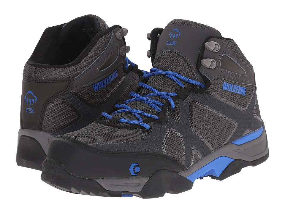 Wolverine - Thunderhead SX EPX Nano Toe (Grey/Blue) Men's Work Lace-up Boots