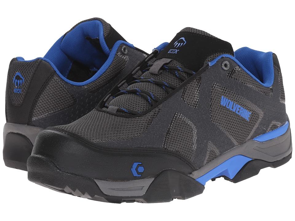 Wolverine - Lightning SX EPX Nano Toe (Black/Grey/Blue) Men's Lace up casual Shoes