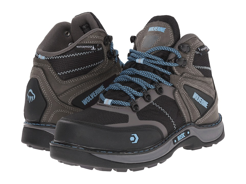 Wolverine Edge FX EPX WPF Nano Toe (Blue/Grey) Women