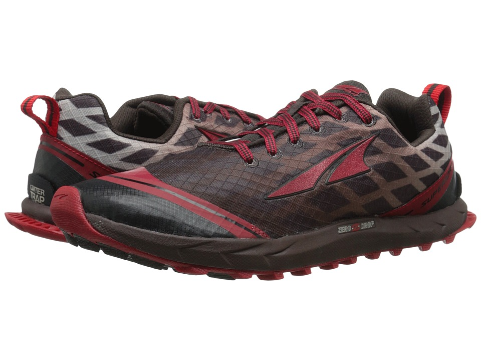 Altra Footwear - Superior 2 (Racing Red/Chocolate) Men's Running Shoes