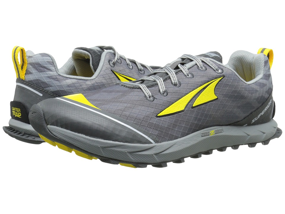 Altra Footwear - Superior 2 (Silver/CyberYellow) Men's Running Shoes