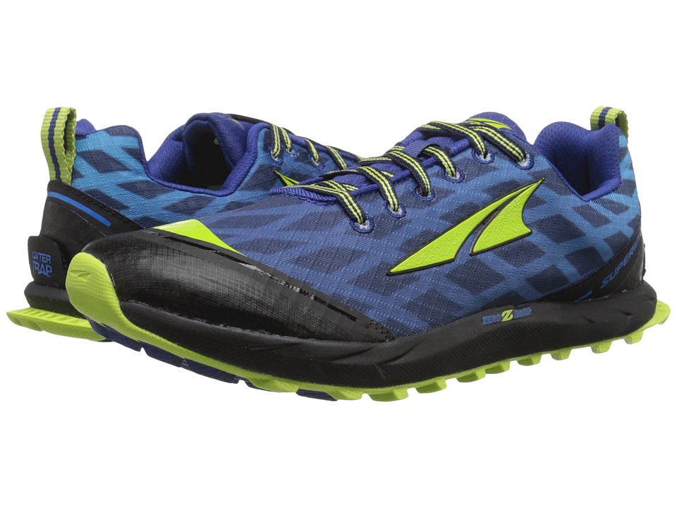 Altra Footwear - Superior 2 (Navy/Lime) Men's Running Shoes