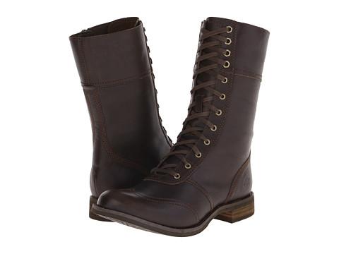 Timberland - Earthkeepers Savin Hill Mid Zip Toe-Cap Boot (Brown) Women