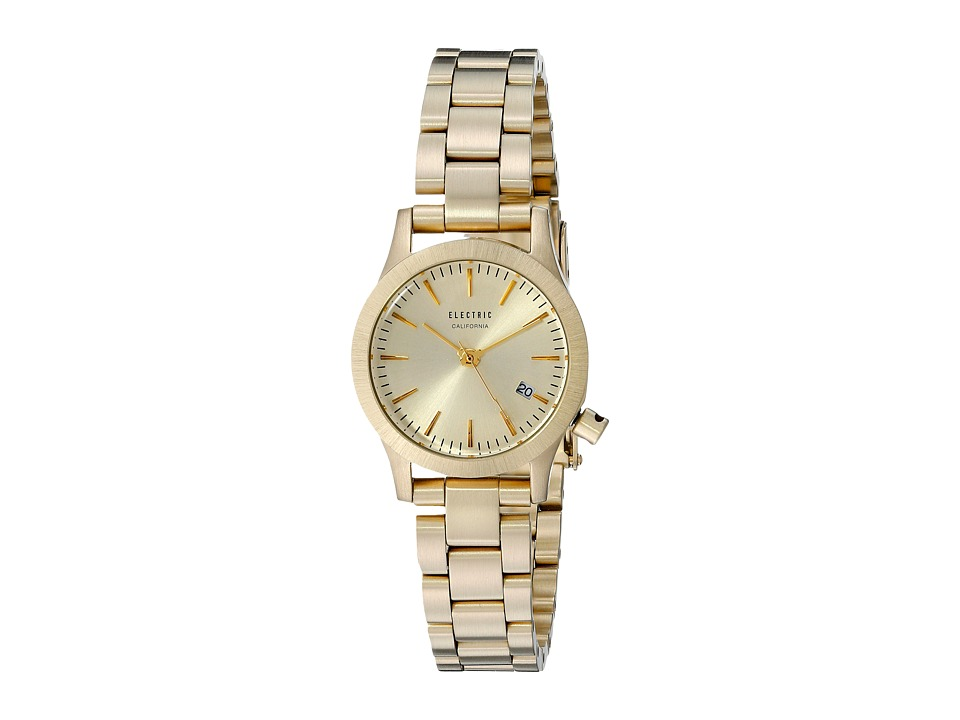 Electric Eyewear - FW03 Mini Stainless Steel (All Gold) Sport Watches