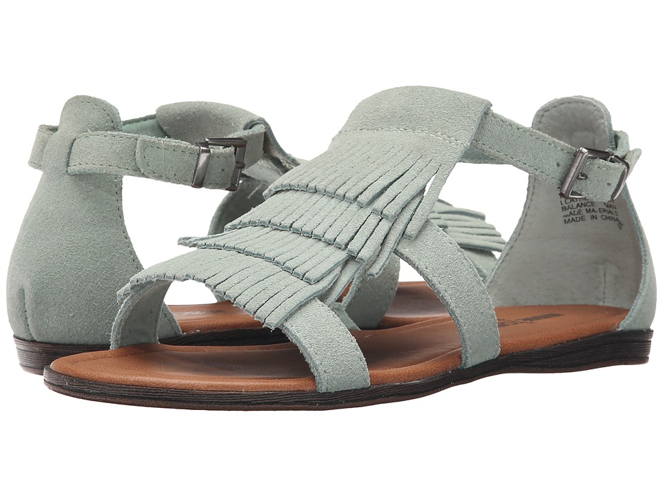 Minnetonka - Maui (Mint Suede) Women's Sandals